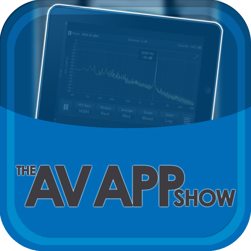 Logo for AVApp Show