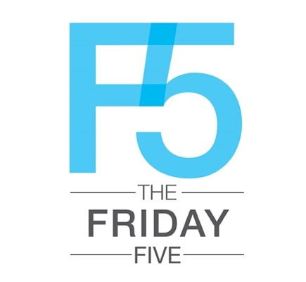 Logo for Friday Five Blog at AVNation.tv