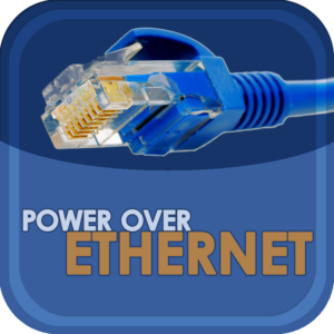 Show Logo for Power Over Ethernet