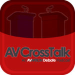 Logo for the AV CrossTalk shows