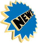 A 3D rendered new star icon