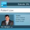 AVWeek 296: Patent Law