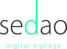 The Sahara Presentations Group PLC expands digital signage options with the acquisition of Sedao