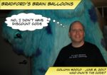 """Bradford's Brain Balloon Column 10, Who Owns the Code. Bradford has a thought bubble """"No, I don't have discount code"""""""