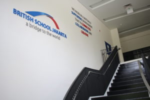 Harman British School Jakarta Stairwell