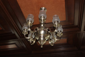 Olin Mansion Senate light fixture