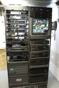 AV Rack at Olin Mansion