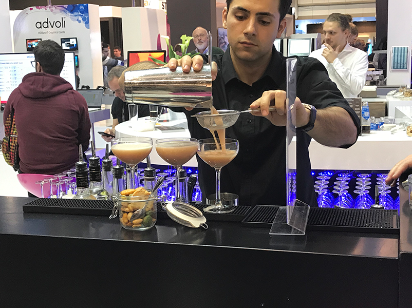 drinks at ISE 2019