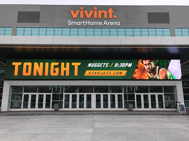 Vivint main entrance