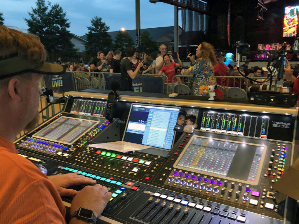 DiGiCo FOH Weird Al
