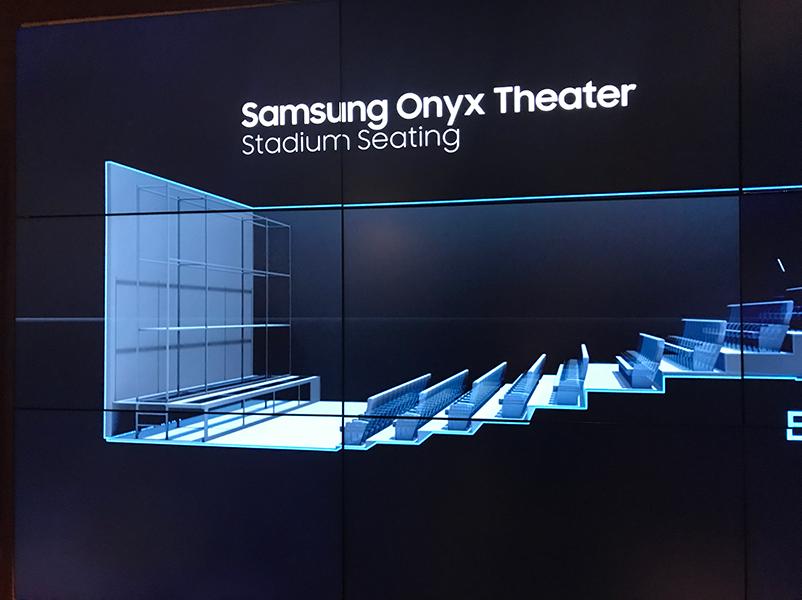 Samsung Onyx seating