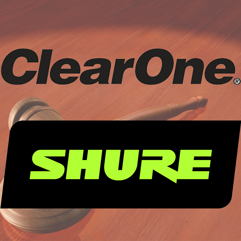 ClearOne v Shure