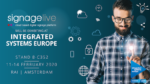 Signlive to attend ISE 2020