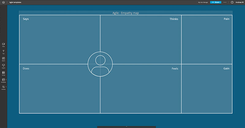 Nureva issues new templates for Span Workspace digital canvas