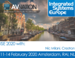 Crestron takes AVNation on a booth tour at ISE 2020