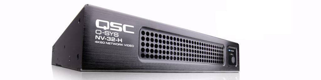 QSC Q-SYS NV System