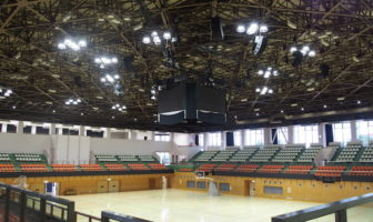 Japanese arena scores with networked audio solution from JBL Professional