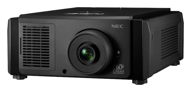 NEC Display introduces quiet, 9,500 lumen laser projector for digital cinema