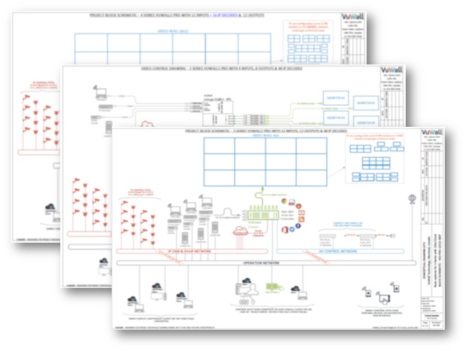 VuWall offers AV/IT professionals free project design services