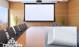 Draper debuts new Foundation mount system and Acumen projection screen