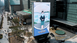 LG'S LEDSignage project turns heads in Gangnam District of Seoul