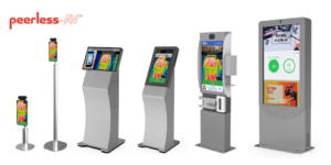New solutions, from tabletop and floor stands, to small and large format integrated kiosks that are completely customizable to assist businesses with public health and safety needs