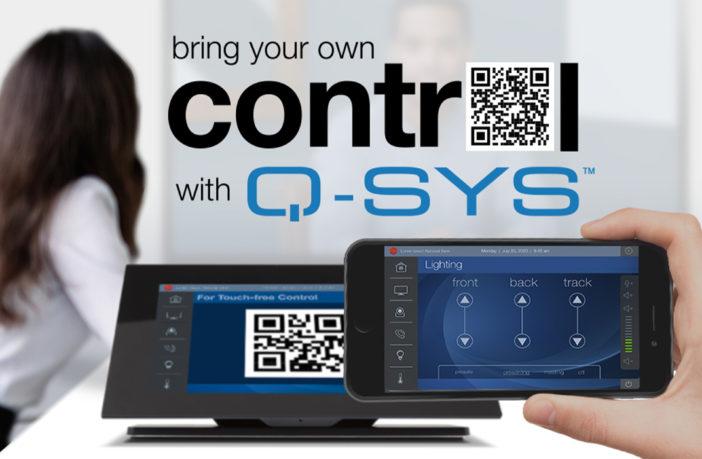 QSC announces new Q-SYS Control plugins