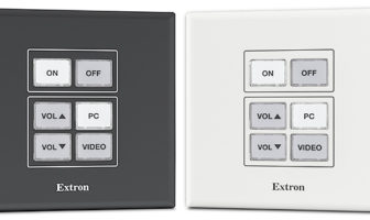 Extron expands NBP Network Button Panel series