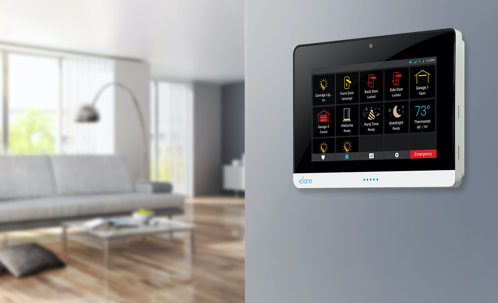 ClareOne debuts Wireless Security and Smart Home Panel ...