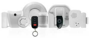 ClareOne integrates with Control4 enabling the system to scale up to advanced home automation features and full media integration