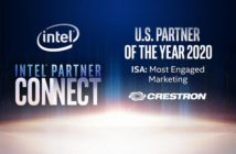 Crestron named Intel's 2020 US IoT Solutions Alliance Partner of the Year
