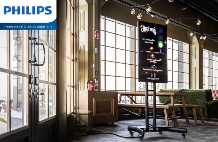 Finnish restaurant reopens with Philips PDS' People Count
