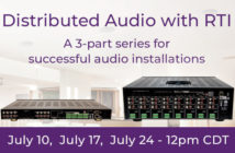 RTI Distributed Audio webinars