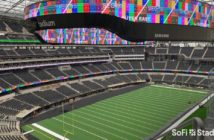 Samsung, Hollywood Park team up on LED video display installation at SoFi Stadium