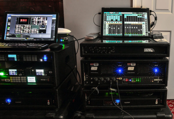 BNY Productions controls remote live streaming with Waves eMotion LV1