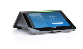 Crestron launches tabletop conferencing system for the work from anywhere workforce