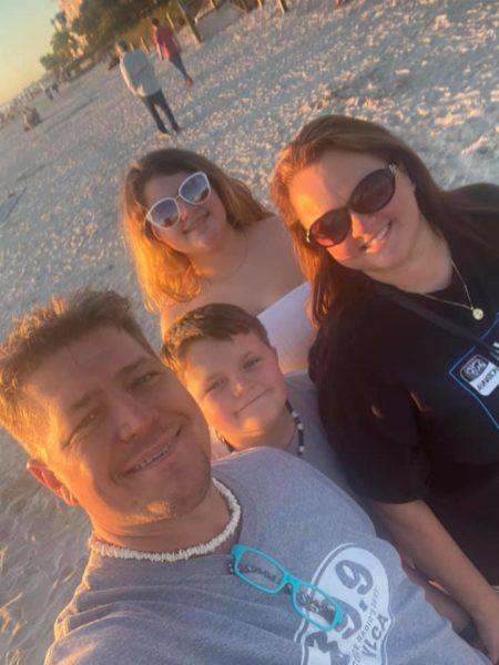 Albright family beach